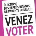 Elections des représentants de parents d'élèves