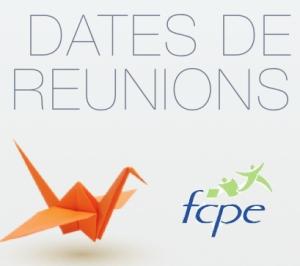 FCPE REUNIONS 2012-13
